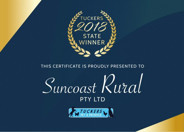 TUCKERS WINNERS - Suncoast Rural-1